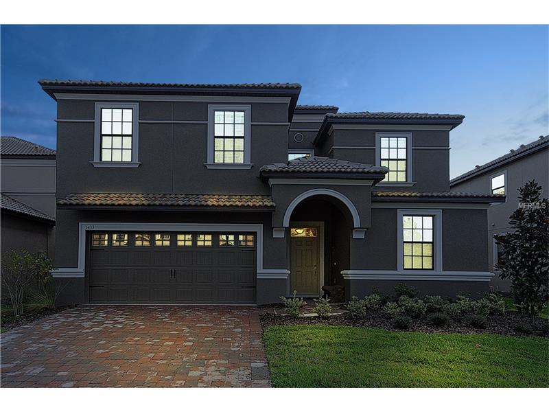 Casarao 8 Dormitorios mobiliado no Champions Gate Resort - Melhor Condominio de Orlando  $509,000
