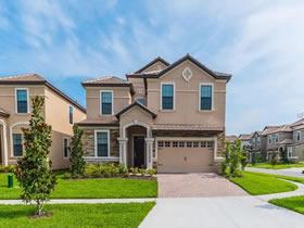 Casa de Férias - 8 dormitórios/ mobiliado / com piscina em Champions Gate Resort - Orlando - $484,990