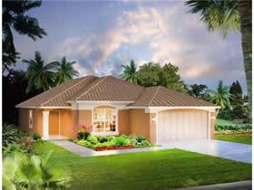 Casa Nova com Piscina em Condominio Fechada com Country Club $300,480