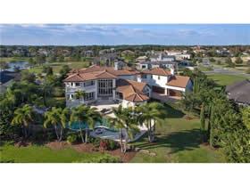 Mansão Mediterraneano no Keenes Point - Windermere - Orlando $3,895,000