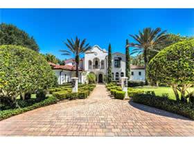 Mansão de Luxo no Reserve at Lake Butler Sound - Windermere - Orlando $3,200,000