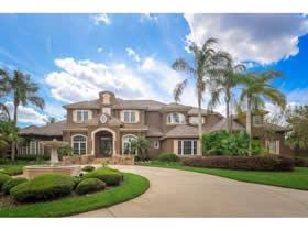 Grande mansao em frente a lagoa em Belle Isle - Orlando $1,950,000