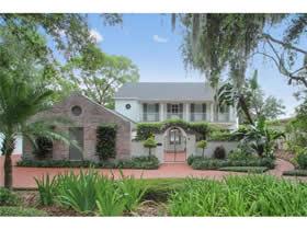Casarão de Luxo Sofisticado em frente a lagoa em Winter Park – Orlando - $1,550,000