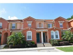 Casa Geminada mobiliado 3 dormitórios no condomínio fechado Compass Bay - Kissimmee - $169,950