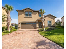 Mansão Novo Todo Mobiliado no Windsor at Westside Resort - Kissimmee - $515,000