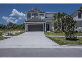 Casa Nova 5 Dormitórios com Piscina no Bellavida Resort - Kissimmee - $459,900