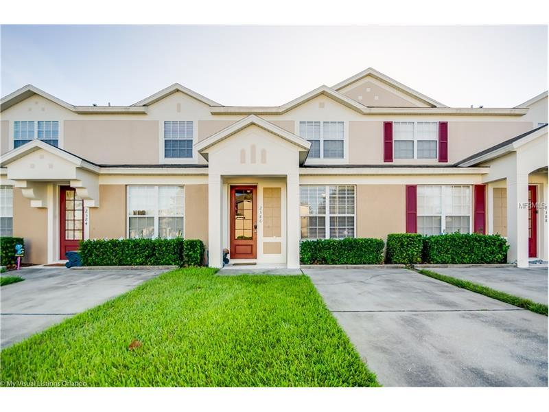 Casa Geminada 3 Dormitórios Mobiliado com Piscina Particular no Windsor Palms Resort - Kissimmee - $181,900