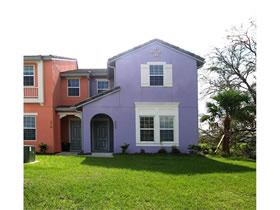 Casa Geminada Nova 5 Dormitórios com Piscina Particular - Festival Resort - Champions Gate - $310,773