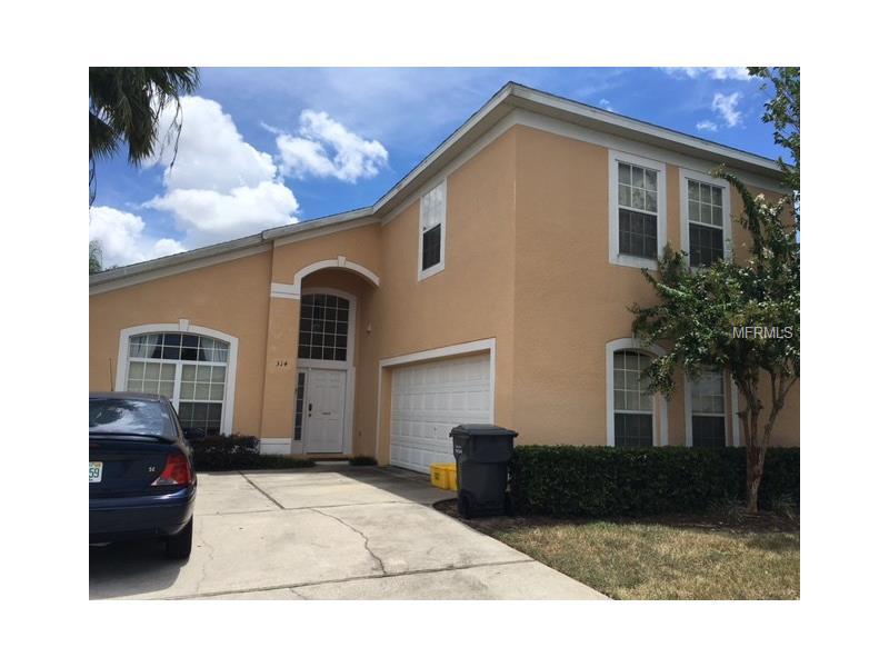 Casa De Férias Mobiliado com Piscina Em Frente A Lagoa - bem localizado em Davenport - Orlando - $279,995