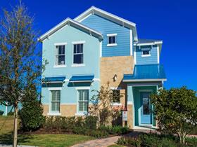 Lançamento - Casa Nova- 5 SUÍTES - Patriot Landings - Reunion - Orlando $439,000