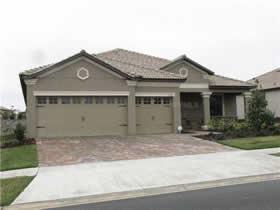 Casa construida em 2013 - Champions Gate - Davenport - Orlando $345,000