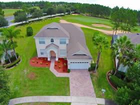 Casarão de 5 quartos com Piscina em Country Club - Davenport - Orlando $409,000
