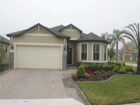 Casa Construída em 2013 com 3 quartos em Davenport - Orlando $299,900
