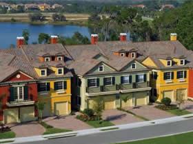 Townhouse 3 quartos Perto dos Parques em Davenport - Orlando $219,000