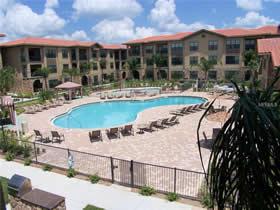 Apto de 4 quartos mobiliado em Condo-Resort em Davenport - Orlando $150,000