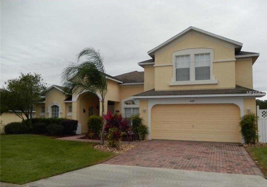 Casar�o de 5 quartos Mobiliado com Piscina em Davenport - Orlando $279,900