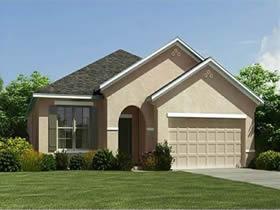 Casa de 1º Locação em Condomínio Fechado para Férias com Piscina em Davenport - Orlando $310,325