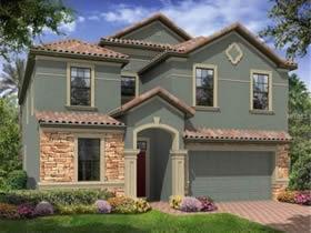 Casa De Luxo com piscina no melhor condominio de Orlando $516,540