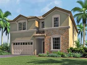 Mansão Nova de 9 quartos com piscina particular em Windsor at Westside Resort em Kissimmee - Orlando $520,090