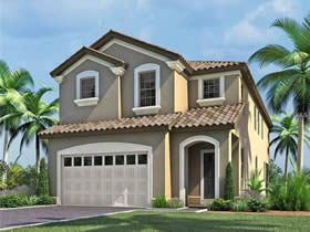 Casa Nova De F�rias com piscina em Windsor at Westside Condominio - Kissimmee - Orlando $414,190