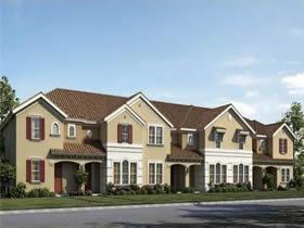 Casa Nova de 4 dormitorios em Oakmont Condominio - Orlando $304,990