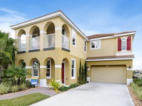 Nova Casa com 6 quartos e Piscina e Spa Particular em Solterra Resort Condominio - Orlando $449,000