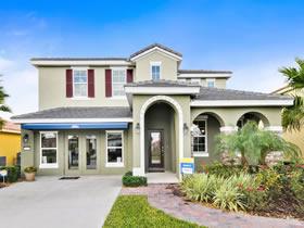 Nova Casa de F�rias com 5 quartos e Piscina Particular e Spa em Solterra Resort - Orlando $379,000