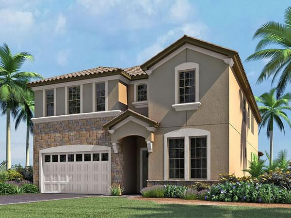 Casa de Ferias em Resort Condominio - Windsor at Westside - Orlando - 9 quartos / 6 banheiros $476,990