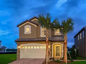 Casa de Férias em Resort Condominio Windsor at Westside - Orlando - 6 quartos / 4.5 banheiros $391,990
