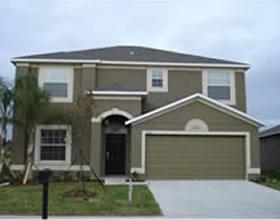 Casa Nova - 4 dormitorios dentro condominio de Luxo - Davenport / Orlando $272,590