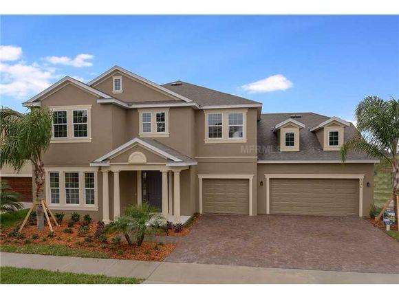 Nova Casa de Férias com 5 quartos e Piscina Particular e Spa em Solterra Resort - Orlando $379,000