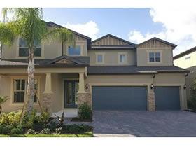 Nova casa de luxo no Royal Legacy Estates com vista de lagoa - Windermere - Orlando - $616,175