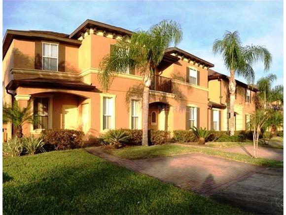 Townhouse Mobiliado 4 dormitorios no Regal Palms Resort - Orlando - $125,900