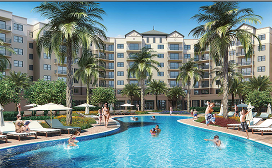 The Grove Resort and Spa - Apartamento Novo 2 dormitórios em Condo Hotel - Resort - $255.000