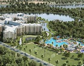 Lan�amento - Apto 2 dormit�rios no Grove Resort Condo Hotel - Orlando - $240,900