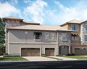 Novo Townhouse 4 dormitórios com garagem fechado em Champions Gate Resort - Orlando - $260,012